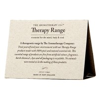 therapy range tent card