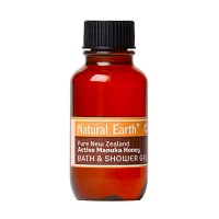 natural earth bath shower gel