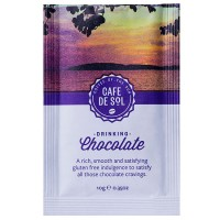 gluten free cafe de sol drinking chocolate