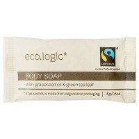 eco logic wrapped soap