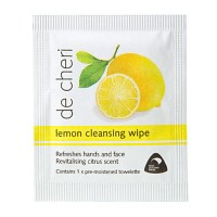 lemon cleansing wipe