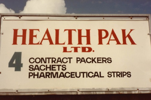 HealthPak Ltd Sign
